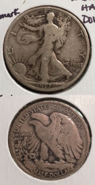 1917-S U.S. Walking Liberty Half Dollar ~Silver~S Obverse